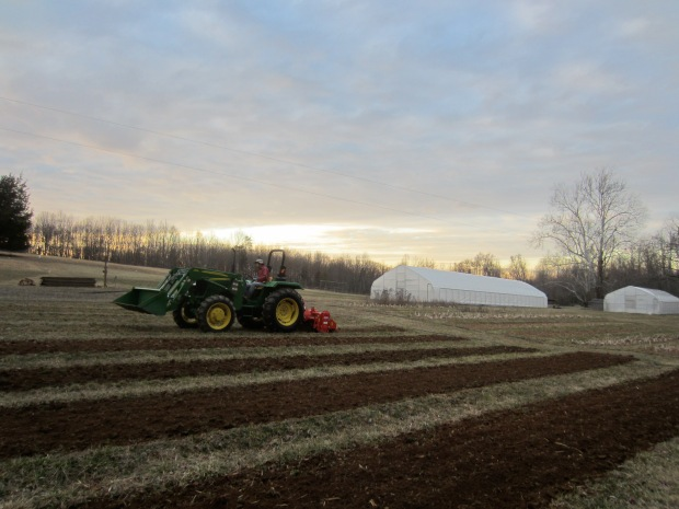 adding micronutrients and tilling